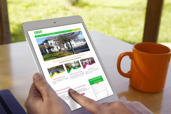 Création site web Centre Hospitalier Auvergne